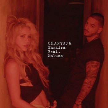 Album cover - Rington Shakira feat Maluma - Chantaje