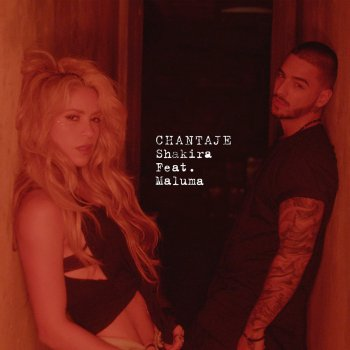 Абложка альбома - Рингтон Shakira feat Maluma - Chantaje