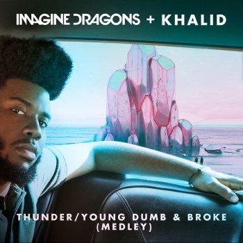 Абложка альбома - Рингтон Imagine Dragons - Thunder  Young Dumb