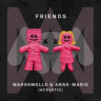 Album cover - Ringtone Marshmello-feat-Anne-Marie - Friends