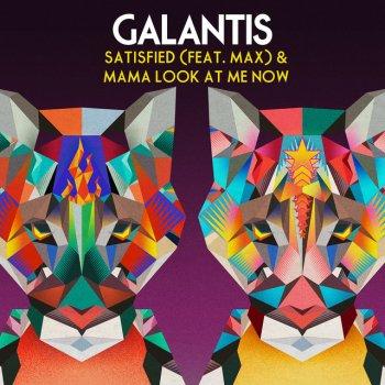 Album cover - Ringtone Galantis - Satisfied feat. MAX