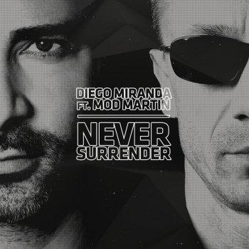 Абложка альбома - Рингтон Diego Miranda - Never Surrender