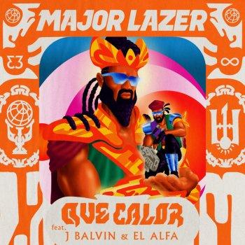 Абложка альбома - Рингтон  Major Lazer Feat. El Alfa & J Balvin - Que Calor
