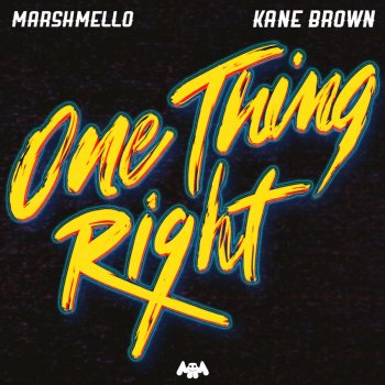 Album Cover - Ringtone Marshmello & Kane Brown - One Thing Right