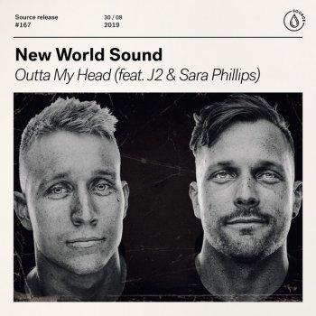 Абложка альбома - Рингтон J2 & Sara Phillips - Outta My Head