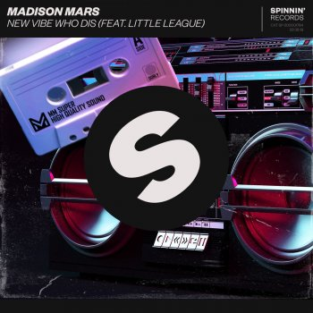 Album Cover - Ringtone Madison Mars & Little League -  New Vibe Who Dis