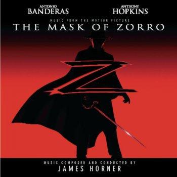 Album cover - Rington James Horner - Zorro s Theme