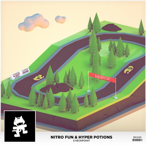 Album cover - Rington Nitro Fun & Hyper Potions - Checkpoint