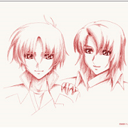 Album cover - Rington Kimi to Boku by Gundam - Seed Destiny