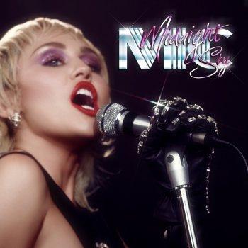 Album cover - Rington Miley Cyrus - Midnight Sky