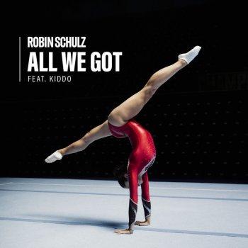 Album cover - Rington Robin Schulz feat. KIDDO - All We Got