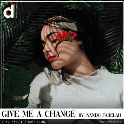 Album cover - Rington Nando Farelah - Give Me A Change