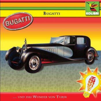 Album cover - Rington Kinder Hörspiel - Bugatti - Das Wunder von Turin - Track 2