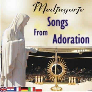Album cover - Rington Choir Queen of Peace Medjugorje - Jesus we adore You